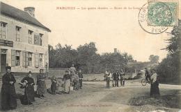 HARGNIES LES QUATRE CHEMINS ROUTE DE LA LONGUEVILLE - France