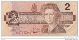 2 Dollars 1986 - N° BUJ6058794 - CANADA - - Canada