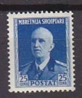 K1748 - ALBANIA ALBANIE Yv N°263 * - Albania