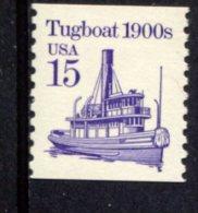 284411890 USA POSTFRIS MINT NEVER HINGED POSTFRISCH EINWANDFREI SCOTT 2260a Transportation Tugboat 1900 - Usati