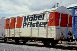 005-375) Dia (color Slide) Schweiz RhB - Gbk-v 5614 - Trains