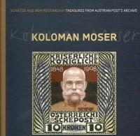 Österreich KOLOMAN MOSER Buch Mit 8 Briefmarken, Und Illustrierten Entwürfen  TOP - 2011-... Nuovi & Linguelle