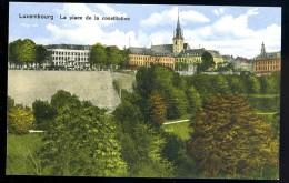 Cpa Luxembourg La Place De La Constitution   AO59 - Luxembourg - Ville