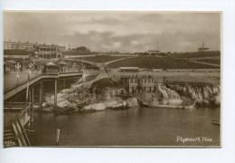 N1C/ Plymouth Hoe, Publ. Battershill's Plymouth, Real Photo Pc - Plymouth