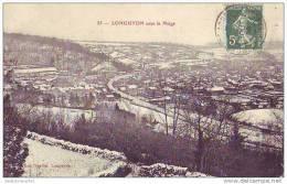 LONGUYON - 54 - Sous La Neige - Longuyon
