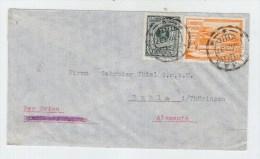 Peru/Germany AIRMAIL COVER 1937 - Peru