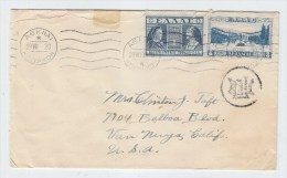 Greece/USA COVER 1920 - Covers & Documents