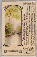 AK MOTIV KÜNSTLER 1902-02-04 Heidelberg Die Brücke Idylle #10 J.L.Stern - Illustrateurs & Photographes