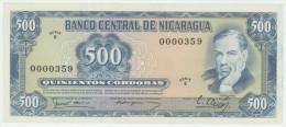 Nicaragua 500 Cordobas 16.8.1979 Pick 133 AU - Nicaragua