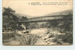 CONGO BELGE - Chemin De Fer Du Bas Congo, Pont Sur La Pozo. - Belgian Congo - Other