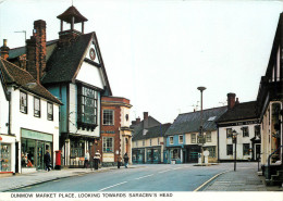 Market Place, Dunmow, Essex, England Postcard Unposted - Otros