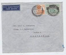 Netherlands Indies/Netherlands AIRMAIL COVER 1936 - Indes Néerlandaises