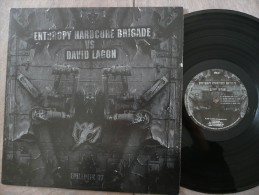 33 T LP ENTHROPY HARDCORE BRIGADE VS DAVID LAGON MUSIQUE ELECTRONIC HARDCORE 1ER PRESSAGE SACEM  EPK 37 2005 EPILEPTIK - Dance, Techno & House