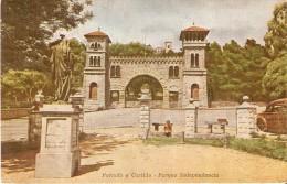 POSTAL DE ARGENTINA DE LA PORTADA Y CASTILLO DEL PARQUE INDEPENDENCIA  (LA SUDAMERICANA) - Argentina