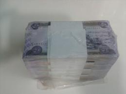 IRAQ banknote, 50 DINARS 2003 ,one bundle, (100 pcs) UNC