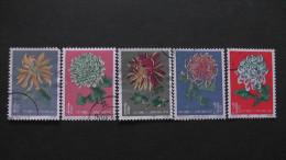 China - 1961 - Mi: 583-5,587-8 O - Look Scan - 1949 - ... République Populaire