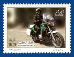Algérie Algeria Gendarme Moto Gendarmerie Motorcycle Bike Motocicleta Cyclisme Ciclismo - Moto