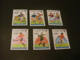 """K9654- Set Used Cambodge -1997 - Worldcup Soccer-football 1998- France"""" - 1998 – France"""