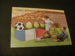 M10111 - Bloc Used Cambodge -1997 - Worldcup Soccer-football 1998- France - 1998 – France