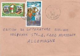 Benin 1994 Parakou Sorcellerie Witchcraft 60f Michel 121, Red Cross 200f Michel 463 Old Values Pre-overprint Cover - Benin – Dahomey (1960-...)