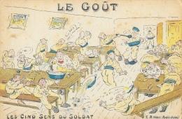Les Cinq Sens Du Soldat - Halte-là! - E.R. Paris - Le Goût - Humour