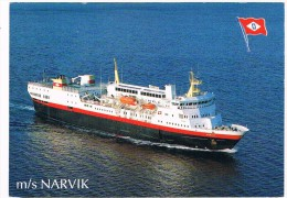 SCH-302   M/S. NARVIK  ( OVDS, Narvik, Norway) - Steamers