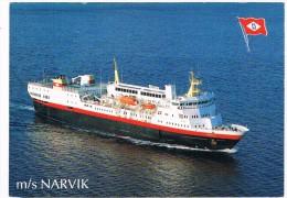 SCH-302   M/S. NARVIK  ( OVDS, Narvik, Norway) - Passagiersschepen