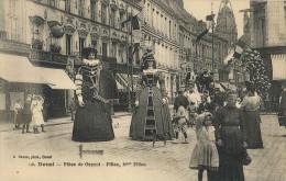 CPA Douai - Fêtes De Gayant - Fillou & Mme Fillou - Douai