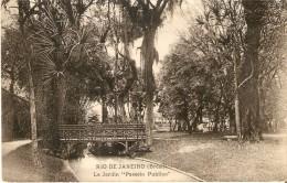 POSTAL DE BRASIL DE EL JARDIN EN RIO DE JANEIRO DEL AÑO 1915 - Rio De Janeiro