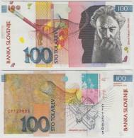 SLOVENIA 100 Tolarjev 2003 RIHARD JAKOPIC - Slovénie