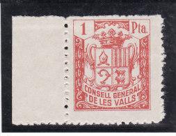 ANDORRE (ANDORRA) 1939 - CONSELL GENERAL DE LES VALLS - N° 3833 (cat. Maury Spécialisé) Lire Description (Lot 11-1) - Stamps