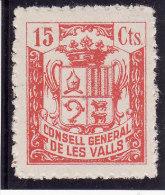 ANDORRE (ANDORRA) 1939 - CONSELL GENERAL DE LES VALLS - N° 3830 (cat. Maury Spécialisé) Lire Description (Lot 7-2) - Stamps