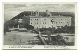 "Haifa, Israele - ""Monastero Del Monte Carmelo"" - Palestina"