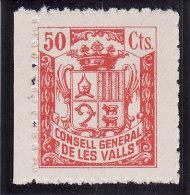 ANDORRE (ANDORRA) 1939 - CONSELL GENERAL DE LES VALLS  - N° 3832 (cat. Maury Spécialisé) Lire Description (Lot 10-2) - Stamps