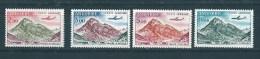 Timbres D´andorre De 1961/64  PA  N°5 A 8  Neufs Petite Trace De Charnière - Luftpost