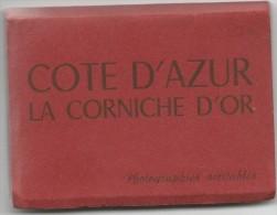 COTE D'AZUR LA CORNICHE D'OR-photographies Veritables-14 Vues- - France
