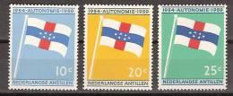 Netherlands Nederlandse Antillen 304-306 MLH; Antillaanse Vlag, Flag, Les Couleurs Nationales, Bandera - Postzegels