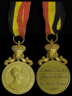 M01804  LEOPOLD III - INSTITUT St. LAMBERT - HURARD HENRI Excellence 8 Année - 1939 - (28 G) Par Witterwulghe - Royaux / De Noblesse
