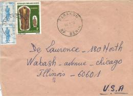 Benin 1998 Parakou Koumboro Dress 5f Michel 353 Amazone 100f Michel 442  Cover - Benin – Dahomey (1960-...)