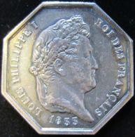 AG01804 LOUIS PHILIPPE I - FIDUCIA JUDICES - NOTAIRES ARROND. PONTOISE - 1833 (Ag 15 G) Charte De Lois Au Revers - Royaux / De Noblesse