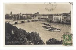 10520 - Basel Mittlere Rheinbrücke Vapeur - BS Bâle-Ville