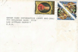 Benin 1995 Cotonou Stamp Collecting 100f Overprint On 500f Michel 889 Mozart 250f Overprint On 1000f Michel 891 Cover - Benin – Dahomey (1960-...)