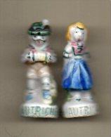 f�ves duo LES PAYS EUROPEENS 1992 - couple AUTRICHE