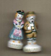f�ves duo LES PAYS EUROPEENS 1992 - couple ALLEMAGNE