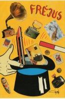 ILLUSTRATEUR JACQUES LARDIE POUR LE 2ÉME SALON DE FREJUS 1991 - Bourses & Salons De Collections