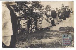 CPA Nouvelles Hébrides Carte Photo Bénédiction De L'église Catholique De Port Vila 1924 - Vanuatu