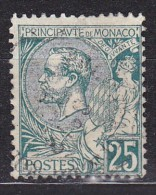 Monaco - N° 16 Oblitéré - Cote 40 Euros - Prix De Départ 9 Euros - Monaco