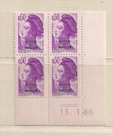 SAINT PIERRE ET MIQUELON ( D16 - 4730 )  1986  N° YVERT ET TELLIER  N  460    N**    COIN DATE - St.Pierre Et Miquelon