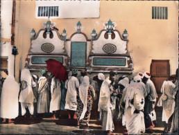 LA MECQUE- Puits ZEM-ZEM ( Rare)-( Dimension 23 Cm X 37 Cm )-Carte Geante. - Arabie Saoudite