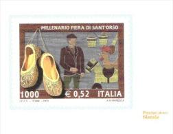 CARTOLINE DI POSTE ITALIANE NUOVE- FIERA DI SANT ORSO - Feste